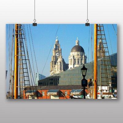 Big Box Art Docks Liverpool Photographic Print