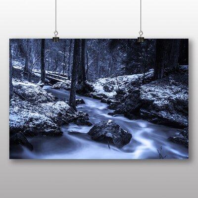 Big Box Art Forest Stream No.2 Photographic Print on Canvas