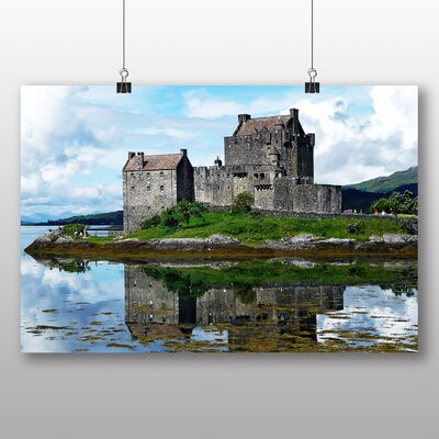 Big Box Art Eilean Donan Castle Scotland Photographic Print Wrapped on Canvas