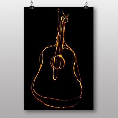 Big Box Art Guitar No.1 Graphic Art