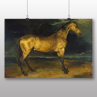 Big Box Art 'Horse' by Gericault Theodore Art Print