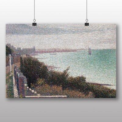 Big Box Art Coast Scene' by Georges Pierre Seurat Art Print