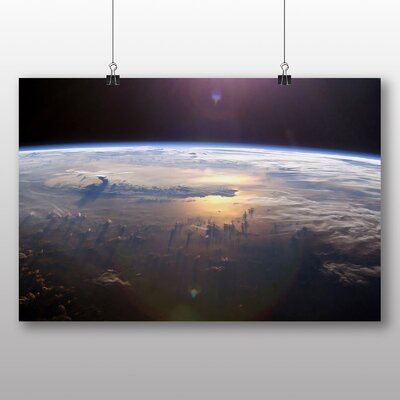 Big Box Art Gravity Earth Space Photographic Print on Canvas