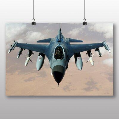 Big Box Art Fighter Jet No.6 Photographic Print