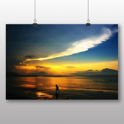 Big Box Art Evening Sunset No.5 Photographic Print on Canvas