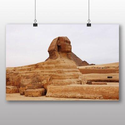 Big Box Art Egypt Sphynx Great Pyramid Photographic Print on Canvas