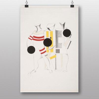 Big Box Art Sportsman by El Lissitzky Graphic Art