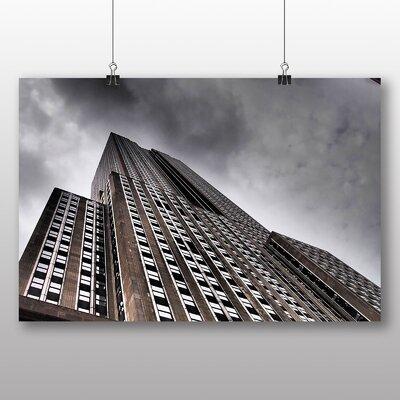 Big Box Art Empire State Building New York City No.4 Photographic Print on Canvas