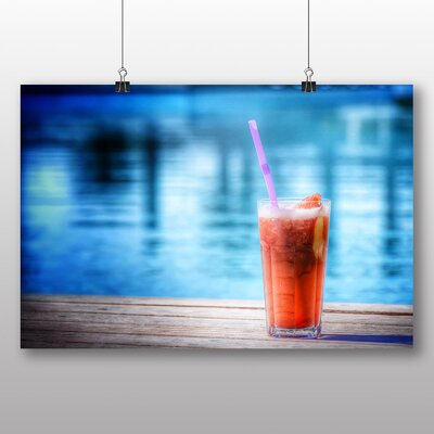 Big Box Art Cocktail Drink Bar No.2 Photographic Print Wrapped on Canvas