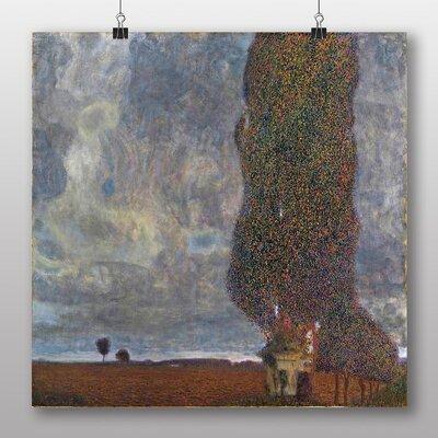 Big Box Art 'Approaching a Thunderstorm' by Gustav Klimt Art Print