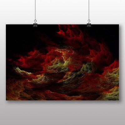 Big Box Art Flames of Hell Graphic Art
