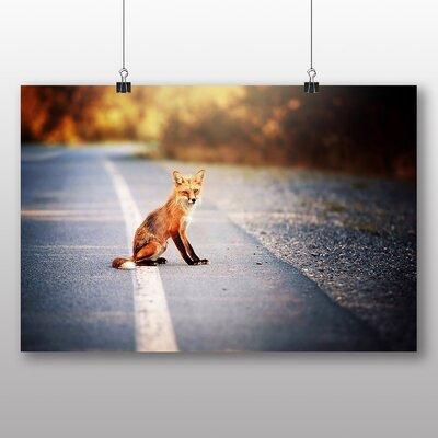 Big Box Art Fox Photographic Print on Canvas