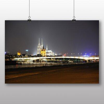 Big Box Art Cologne Germany Rhine Photographic Print