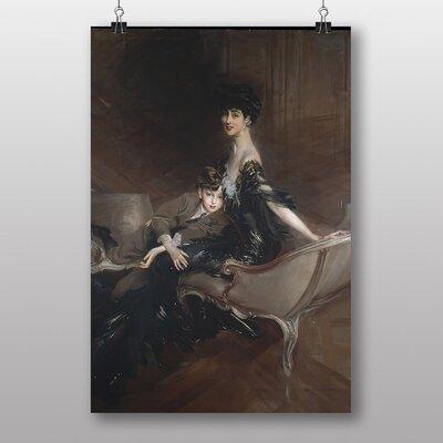 "Big Box Art ""Portrait of Consuelo Vanderbilt"" by Giovanni Boldini Art Print"