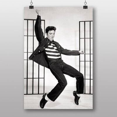 Big Box Art Elvis Presley Jailhouse Rock Photographic Print