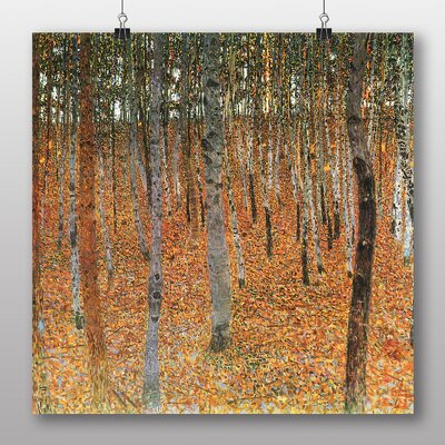 Big Box Art 'Beech Grove Forest No.1' by Gustav Klimt Art Print