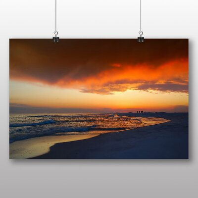 Big Box Art Florida Sunset USA Photographic Print