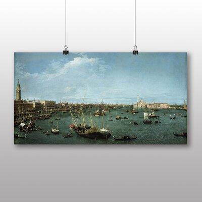 Big Box Art 'San Marco, Venice' by Giovanni Canaletto Art Print
