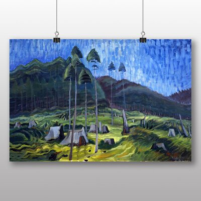 Big Box Art 'Odds and Ends' by Emily Carr Art Print