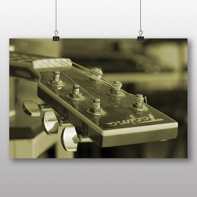 Big Box Art 'Guitar Music' Photographic Print