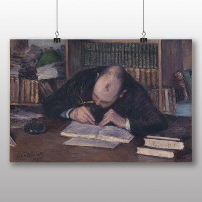 Big Box Art 'Writing Man' by Gustave Caillebotte Art Print
