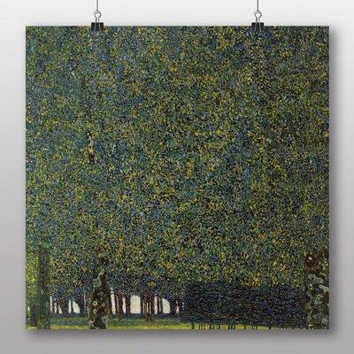 Big Box Art 'The Park' by Gustav Klimt Art Print