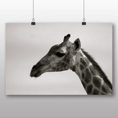 Big Box Art Giraffe No.5 Photographic Print on Canvas