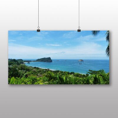 Big Box Art Costa Rica Beach Photographic Print