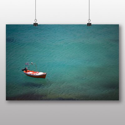 Big Box Art 'Empty Boat' Photographic Print