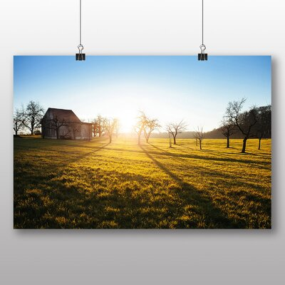 Big Box Art Good Morning Sunrise Photographic Print on Canvas