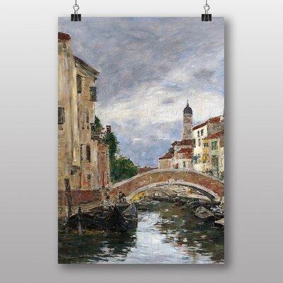 "Big Box Art ""Venice"" by Eugene Boudin Art Print"