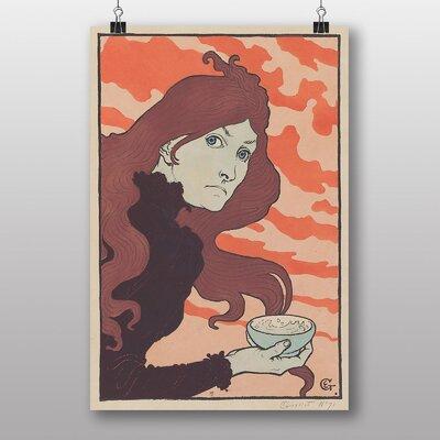 "Big Box Art ""La Vitrioleuse"" by Eugene Grasset Vintage Advertisement"