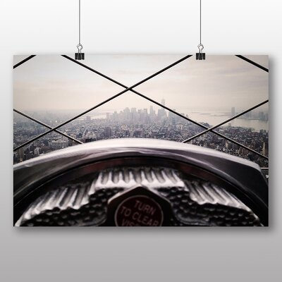 Big Box Art Empire State Building New York City No.7 Photographic Print Wrapped on Canvas