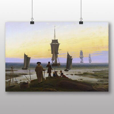 Big Box Art 'The Stages of Life' by Caspar David Friedrich Art Print