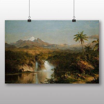 Big Box Art 'View of Cotopaxi' by Frederic Edwin Church Art Print