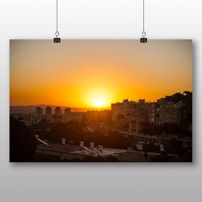 Big Box Art Haifa Israel Photographic Print on Canvas