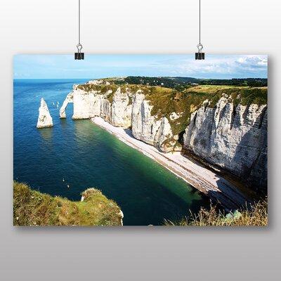Big Box Art Etretat Normandy France Photographic Print Wrapped on Canvas
