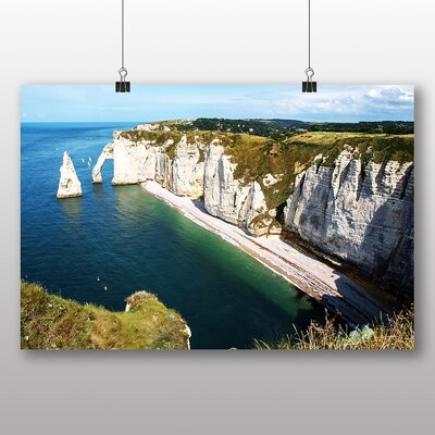 Big Box Art Etretat Normandy France Photographic Print