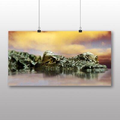 Big Box Art Crocodile Photographic Print