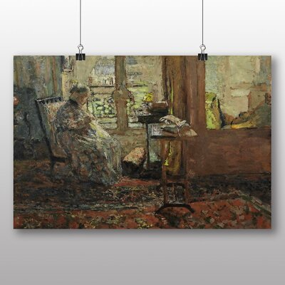 Big Box Art 'Elderly Women in the Lounge' by Edouard Vuillard Art Print