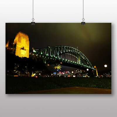Big Box Art Harbour Bridge Sydney Australia Photographic Print on Canvas