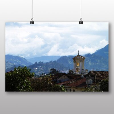 Big Box Art Cuenca Ecaudor Photographic Print