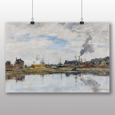 Big Box Art 'The Harbour' by Eugene Boudin Art Print