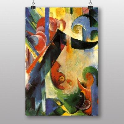 "Big Box Art ""Broken Forms"" by Franz Marc Art Print"