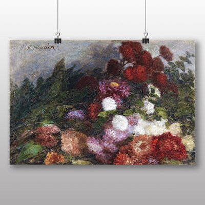 Big Box Art 'Flowers' by Eugene Boudin Art Print