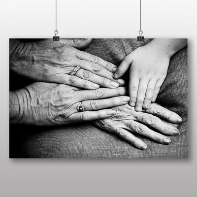 Big Box Art 'Hands' Photographic Print