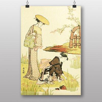 "Big Box Art ""Vintage Japanese Oriental Art No.2"" by Helen Hyde Art Print"