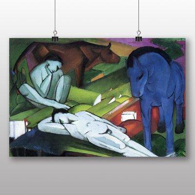 Big Box Art 'Shepherds' by Franz Marc Art Print