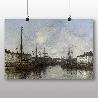 Big Box Art 'Brussels Harbour' by Eugene Boudin Art Print