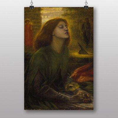 "Big Box Art ""Beata Beatrix"" by Dante Gabriel Rossetti Art Print"